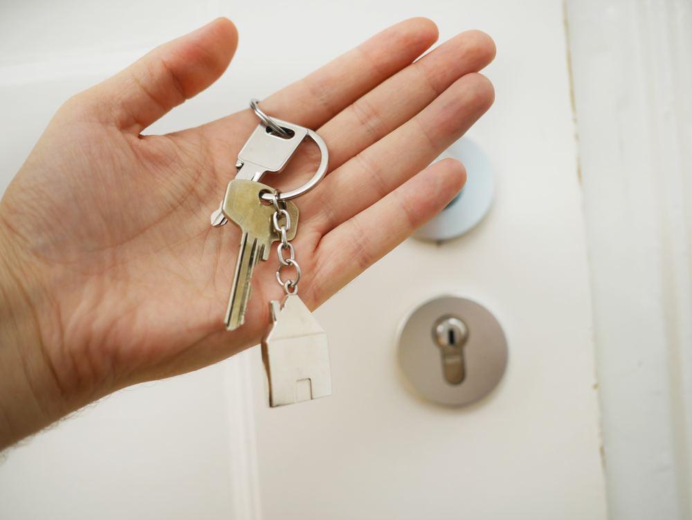 Kontakt en låsesmed om du har låst deg ute